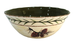 Pine Cone Serving Bowl
