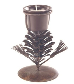 Europa Pinecone Candleholder 6