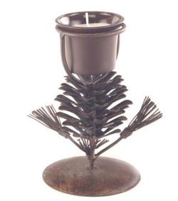 Europa Pinecone Candleholder 6