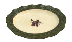Pine Cone Serving Platter