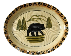 Black Bear Lodge Serving Platter