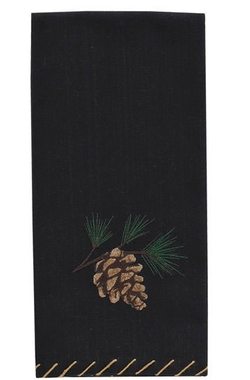 Pinecone Guest Towel