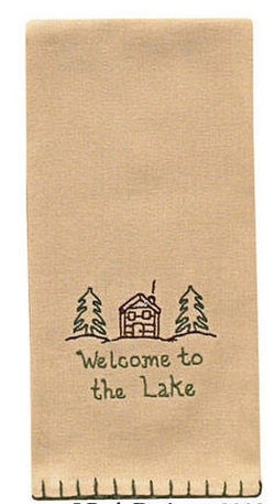 Welcome to the Lake Towel