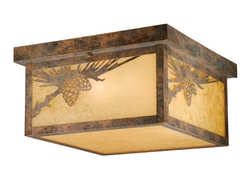 Whitebark Old World Patiena Ceiling Light