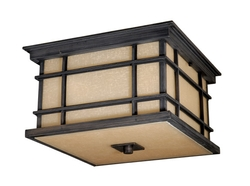 Manor House Outdoor Ceiling Light-Two Color Finishes