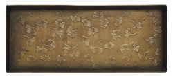 Ginkgo Leaves Antiqued Boot Tray