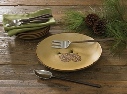 Cabin Rustic Lodge Decor Dinnerware Dinnerware Cabin 9