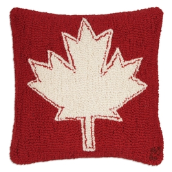 Canadian Maple Leaf Pillow