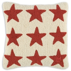 Red Stars on White 18