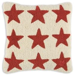 Red Stars on White 18