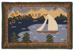 Welcome to the Lake 2' x 3'