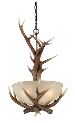 Yoho Pendant - 19.5W in. Black Walnut
