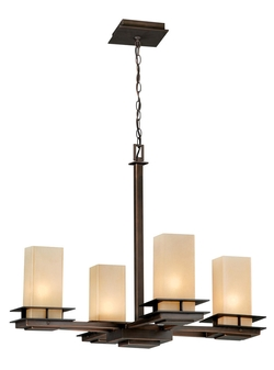 Oak Park 4-Light Chandelier - 24 W in