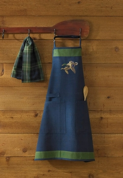 Mallard Embroidered Apron