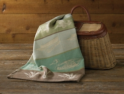 Lake House Jacquard Dish Towel