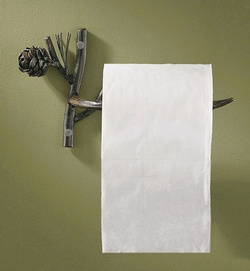Pine Lodge Toilet Paper Holder