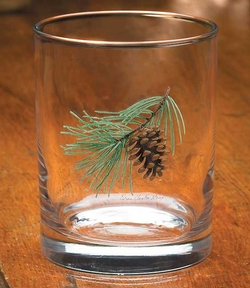 Pinecone Double Old Fashioned - Set of 4