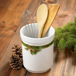 Pinecone Utensil or Bottle Holder