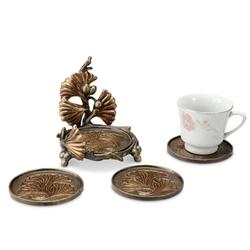 Gingko Leaf Coasters - Set of 4