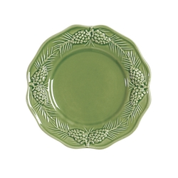 Pinecone Dessert or Salad Plate - Set of 4  sc 1 st  Cabin 9 Design & Cabin Rustic Lodge Decor Dinnerware | Dinnerware | Cabin 9 Design