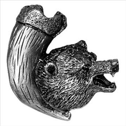 Bear with Claw Knob Facing Right