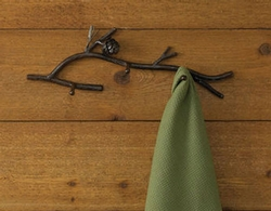 Pine Lodge 3 Arm Hook
