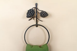 Pinecone Towel Ring