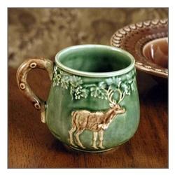 CE Corey Animals Deer Mugs & Cabin Rustic Lodge Decor Dinnerware | Dinnerware | Cabin 9 Design