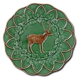CE Corey Animals Deer plates  sc 1 st  Cabin9Design & Cabin Rustic Lodge Decor Dinnerware | Dinnerware | Cabin 9 Design