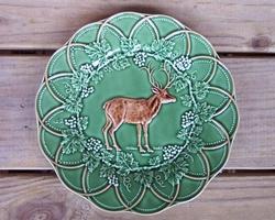 CE Corey Animals Deer plates