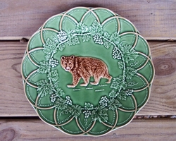 CE Corey Animals Bear plates