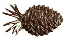 Pinecone Napkin Ring - Set of 2