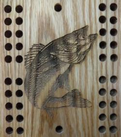 Fish Cribbage Board