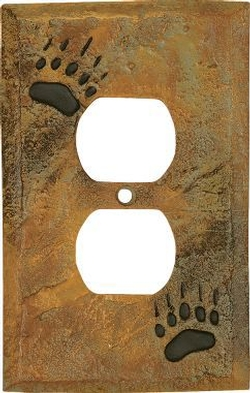 Bear Track Switch Plates