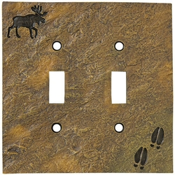 Moose & Tracks Switch Plate