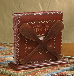 Fish Camp Lunch Napkin Holder
