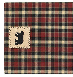 Concord Bear Patch Table Runner - 13