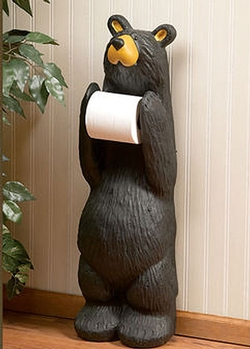 Bear Friend Toilet Paper Holder