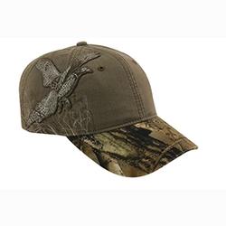 DRI DUCK Pheasant Rawhide Cap