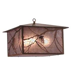 Whispering Pines Lantern Pendant