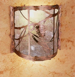 Whispering Pines Wall Sconce