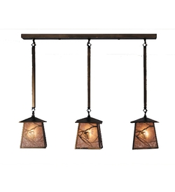 Whispering Pine 3 Light Mini Pendant