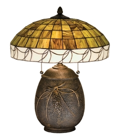 Pine Needle Table Lamp