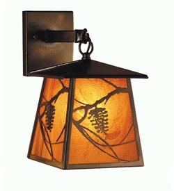 Whispering PIne Lantern Wall Sconce