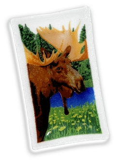 Peggy Karr Rectangular Moose Tray - 10