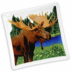 Peggy Karr Square Moose Tray - 10