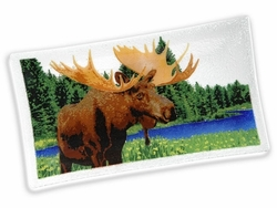 Peggy Karr Rectangular Moose Tray - 14