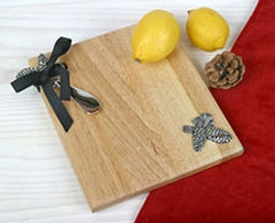 Pinecone Cheese Board & Knife Set