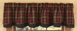 Hanover Lined Layered Valance
