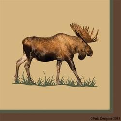 Moose Paper Napkin